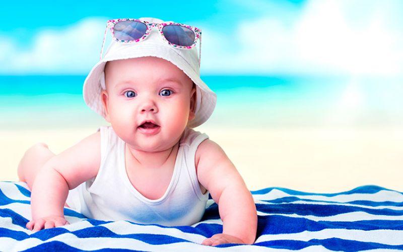Proteger piel bebé verano